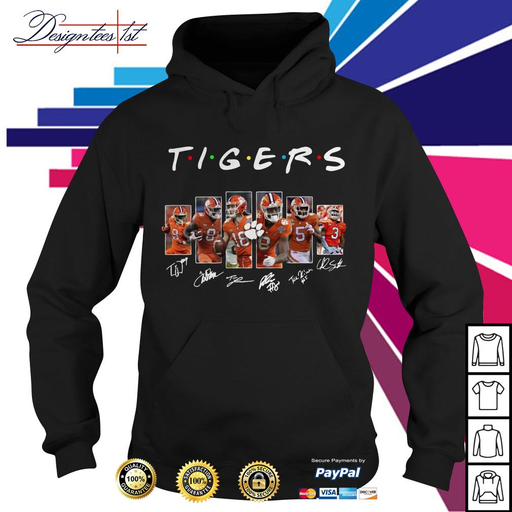 Clemson Tigers team player signatures Hoodie