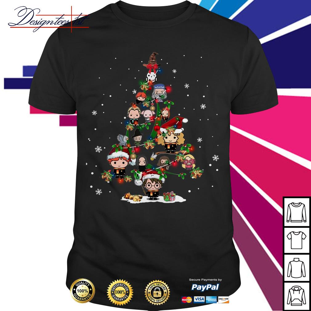 Harry Potter Christmas tree shirt, sweater