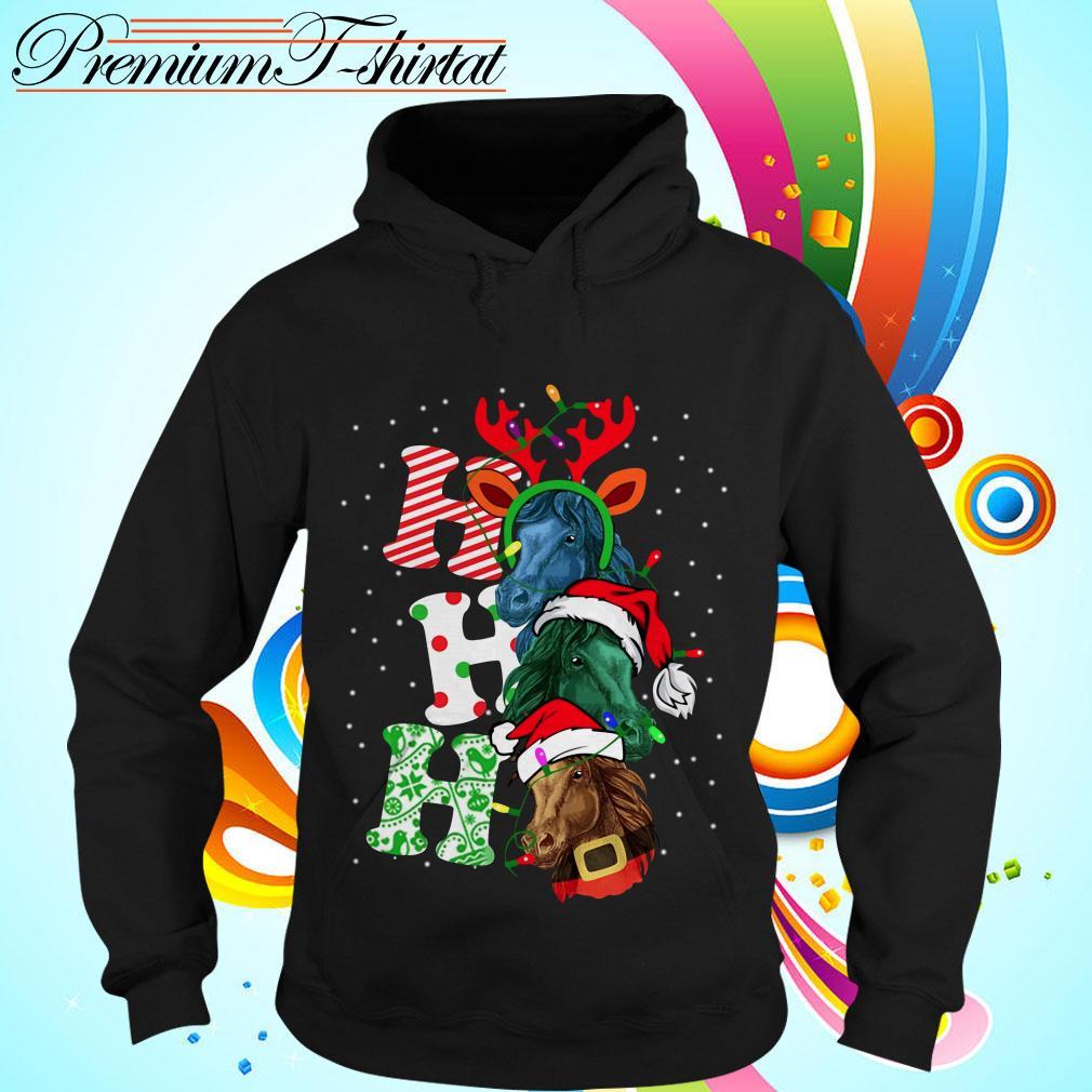 Ho Ho Ho Horse Santa Christmas shirt