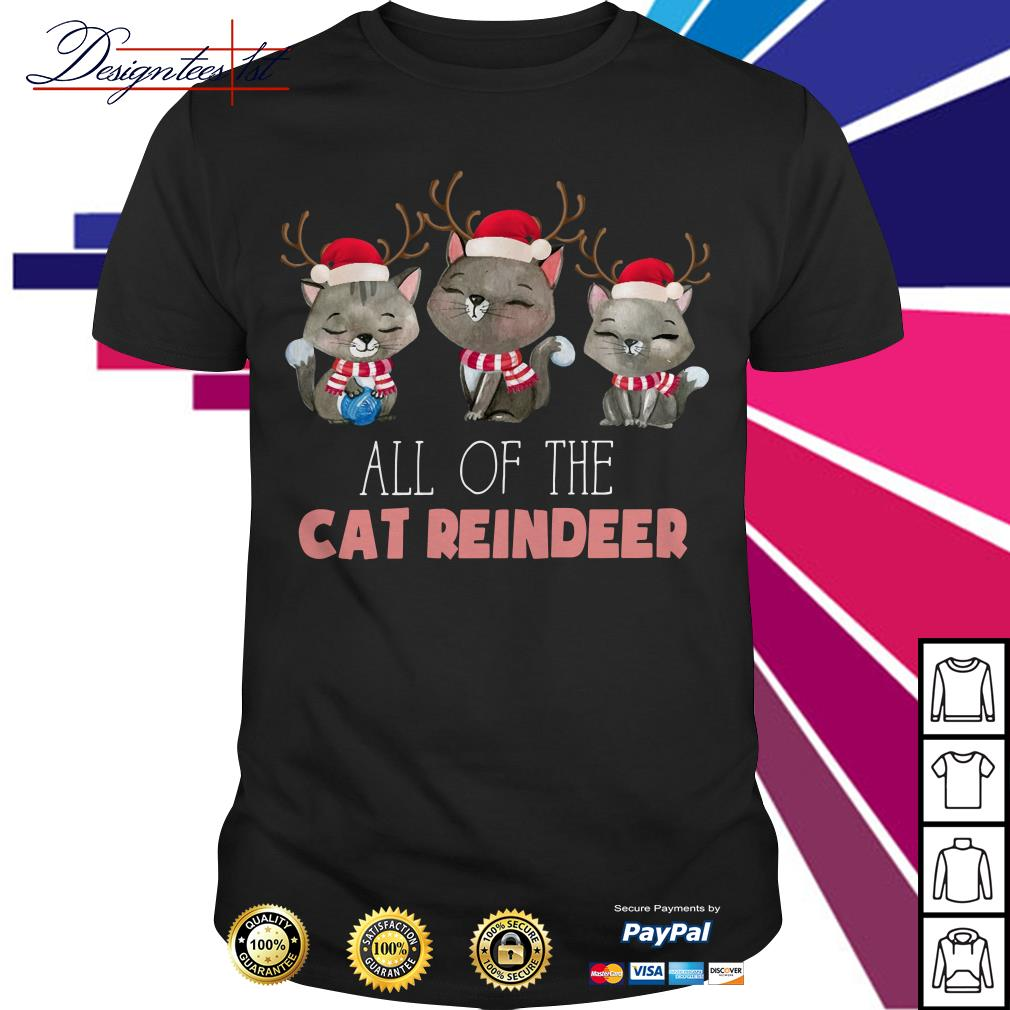 Merry Christmas all of the cat reindeer shirt, sweater