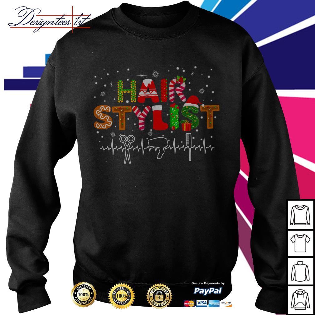 Merry Christmas hair stylist shirt, sweater