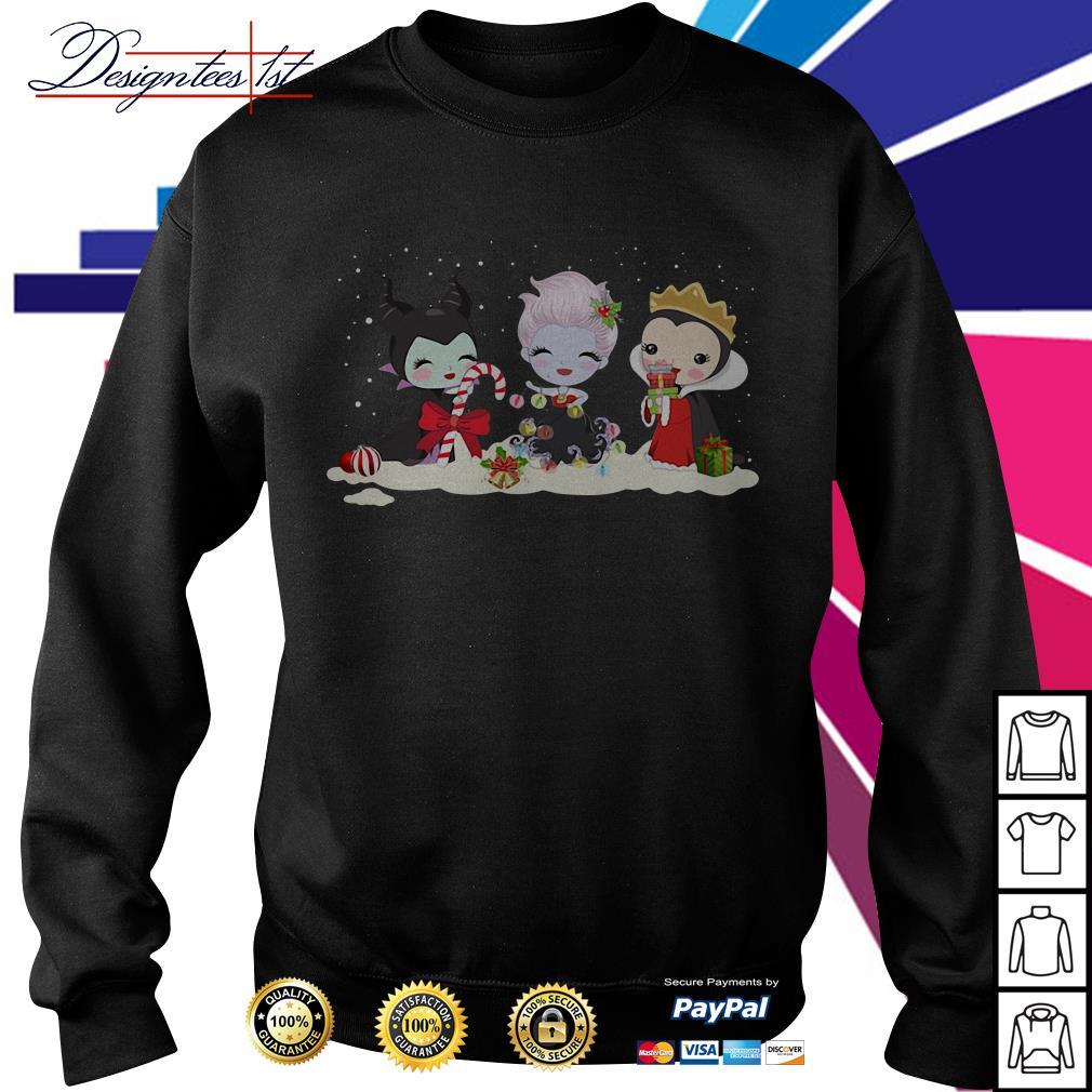 Merry Christmas Hocus Pocus characters chibi shirt, sweater