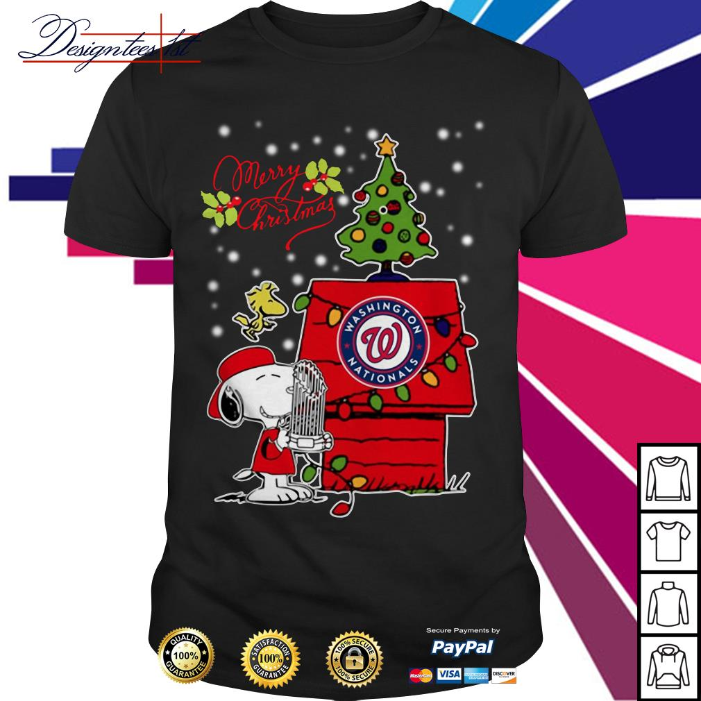 Merry Christmas Snoopy Washington Nationals shirt, sweater