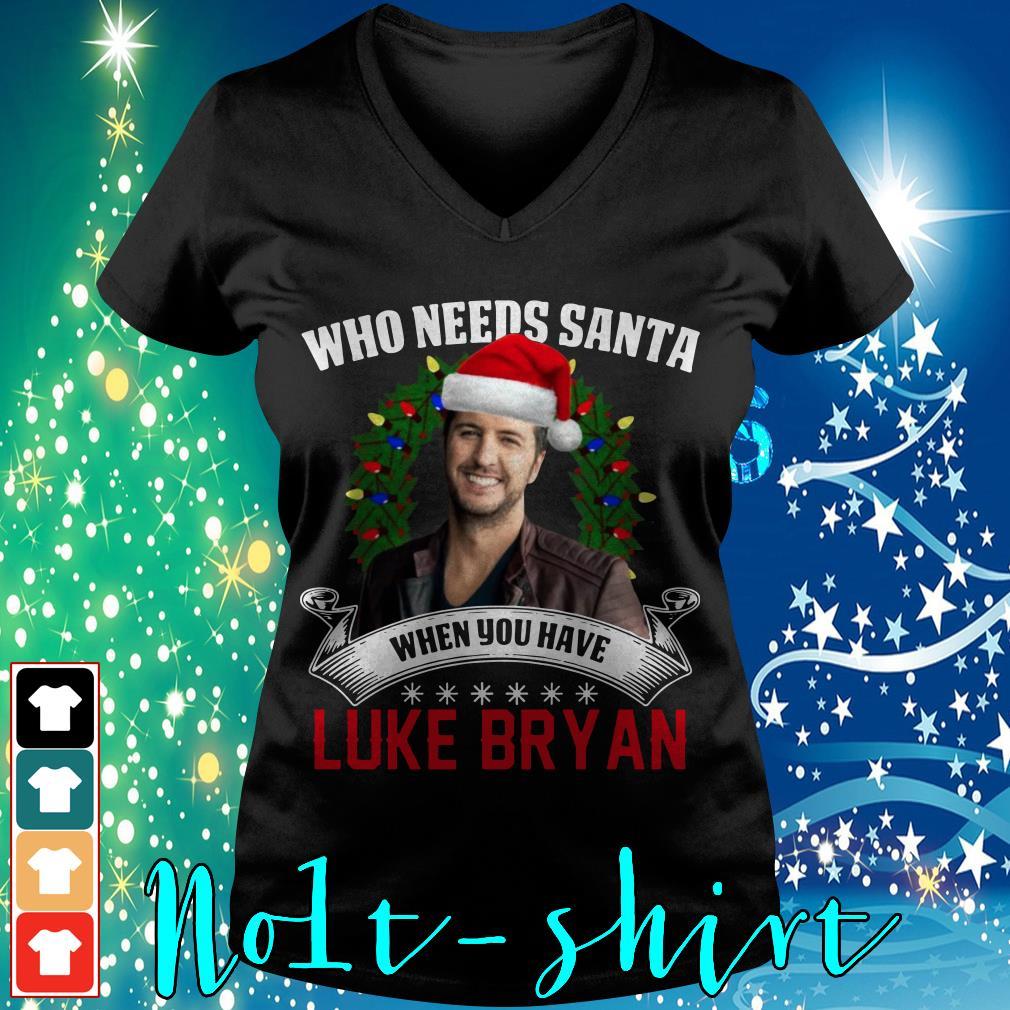 Who needs Santa when you have Luke Bryan shirt, sweater