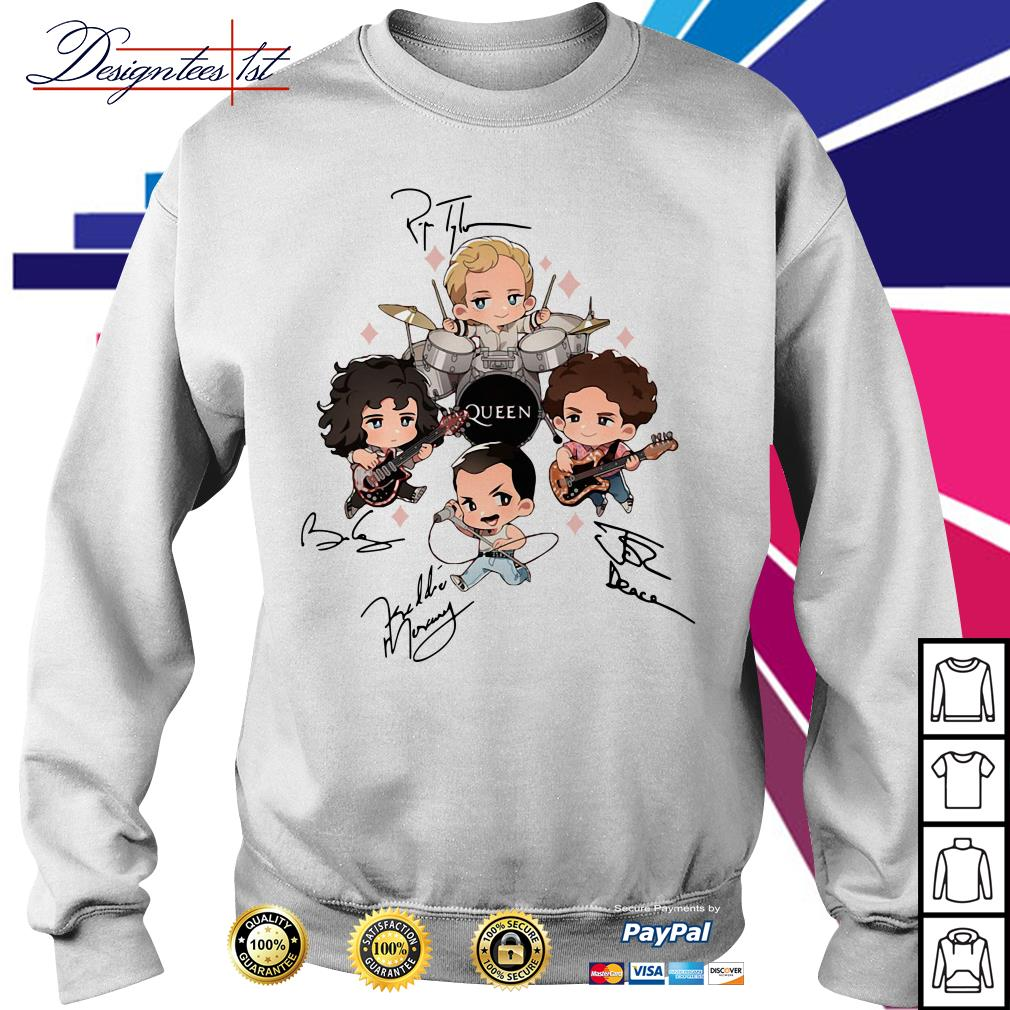 Queen band chibi friends signature Sweater