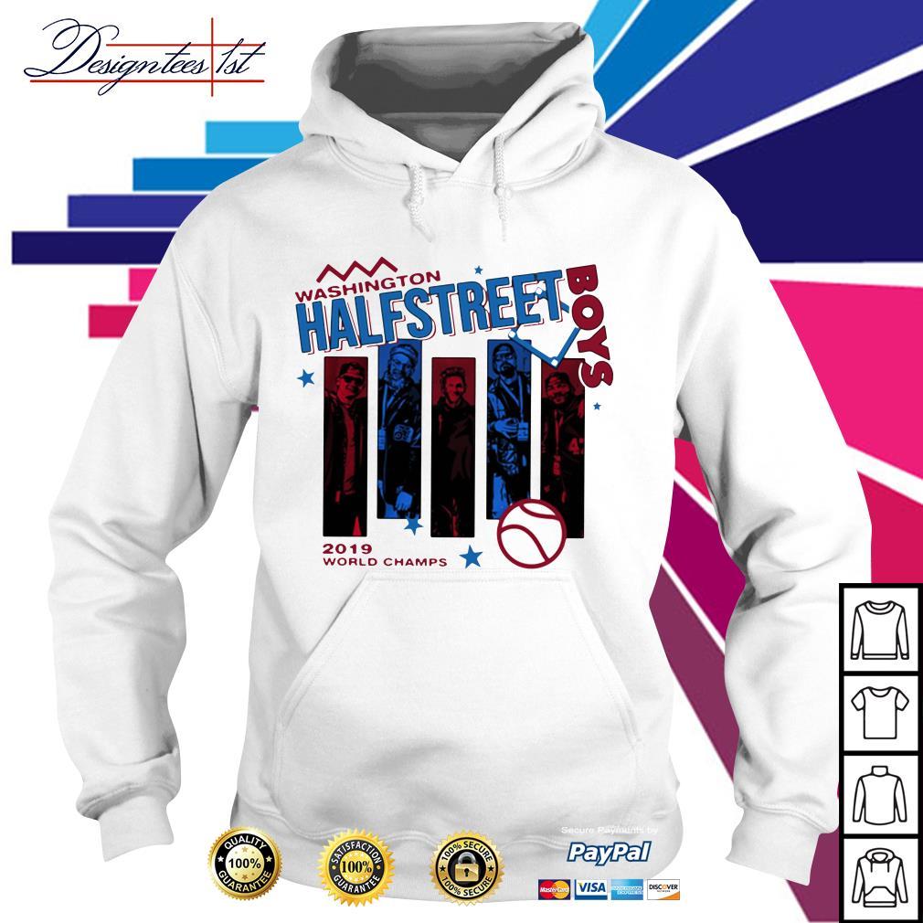 Washington half Street Boys 2019 world champs Hoodie