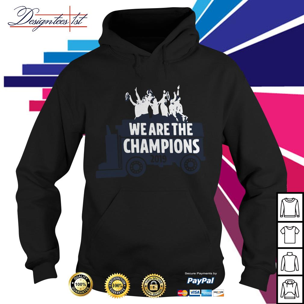 Washington Zamboni We are the Champions 2019 Hoodie