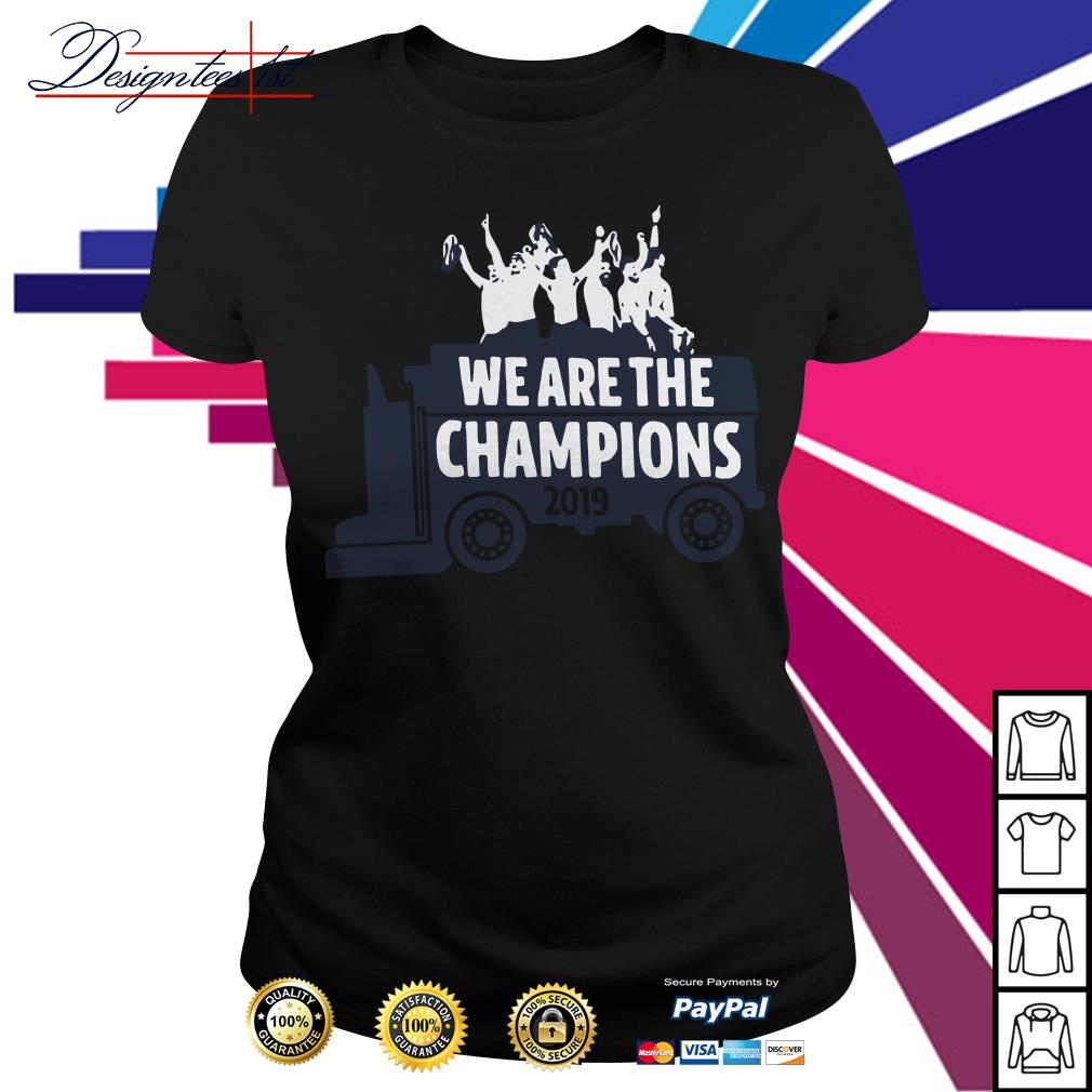 Washington Zamboni We are the Champions 2019 Ladies Tee