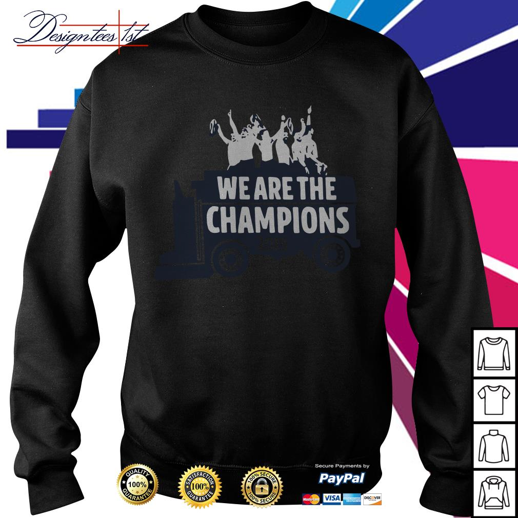Washington Zamboni We are the Champions 2019 Sweater