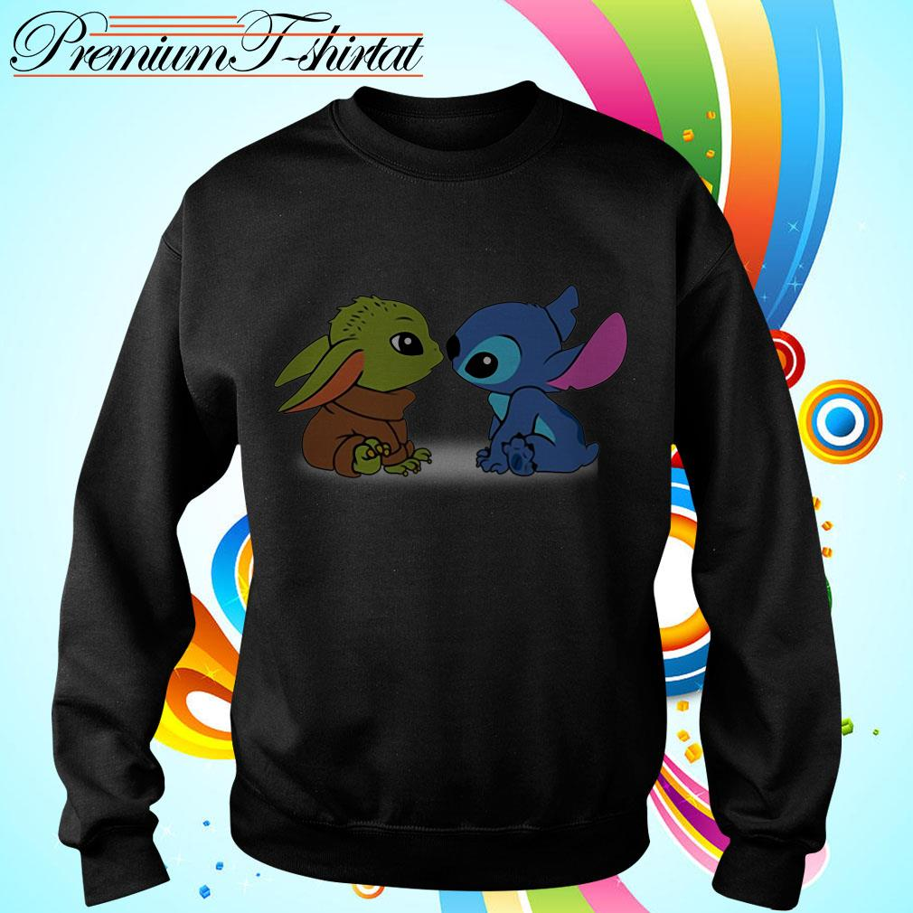 Baby Yoda and baby Stitch Sweater