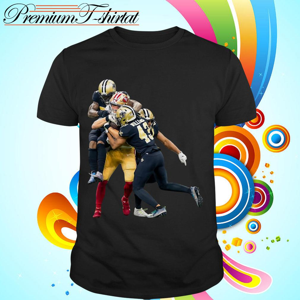 Sprint Football San Francisco 49ers And New Orleans Saints shirt