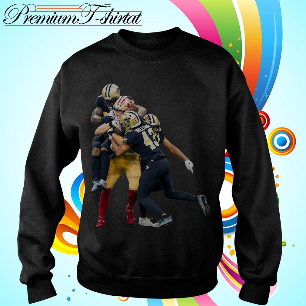 Sprint Football San Francisco 49ers And New Orleans Saints Sweater