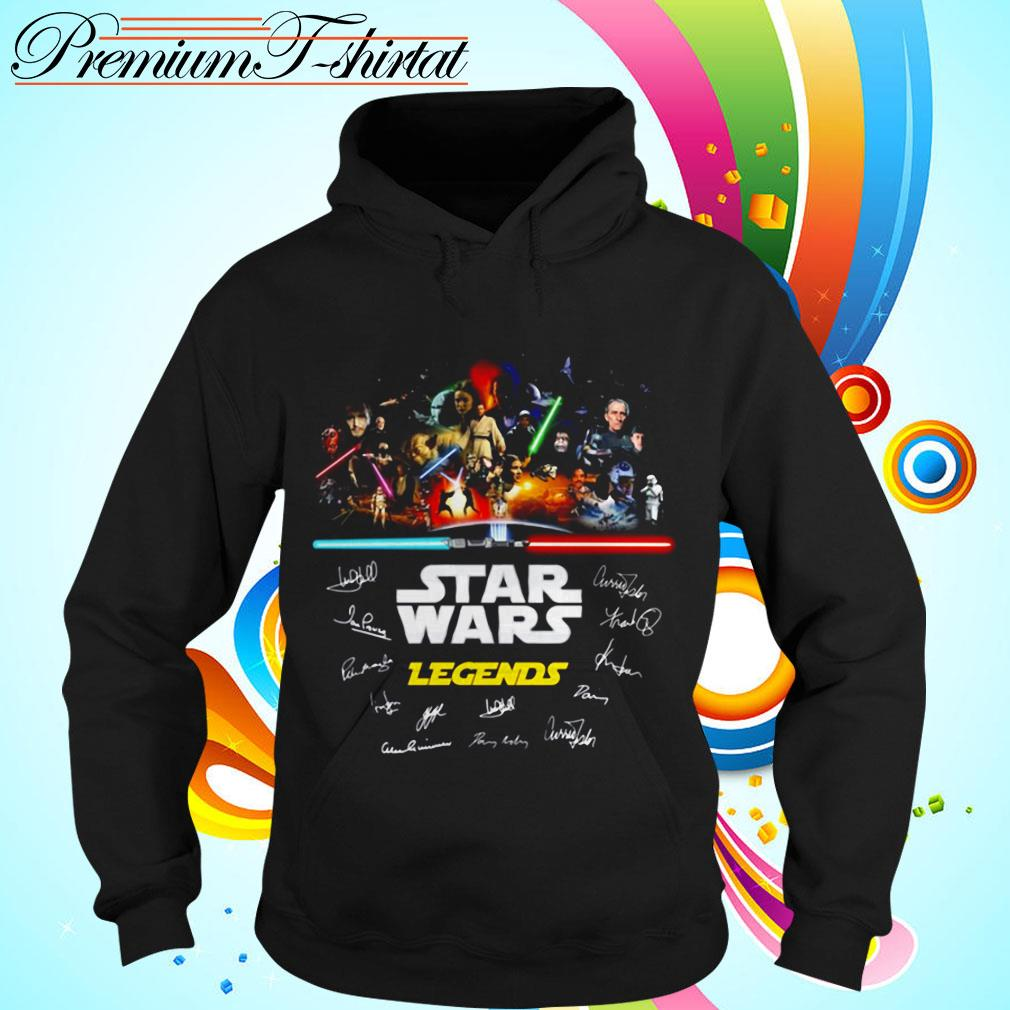 Star Wars Legends signatures Hoodie