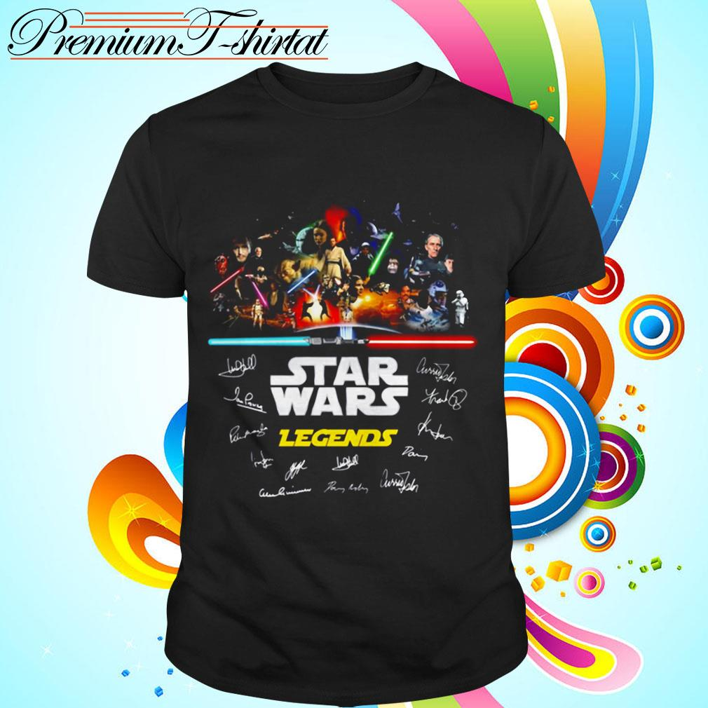 Star Wars Legends signatures shirt