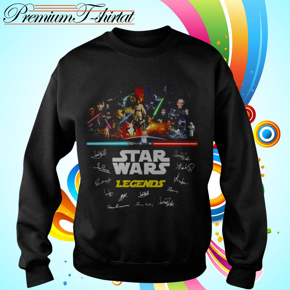 Star Wars Legends signatures Sweater