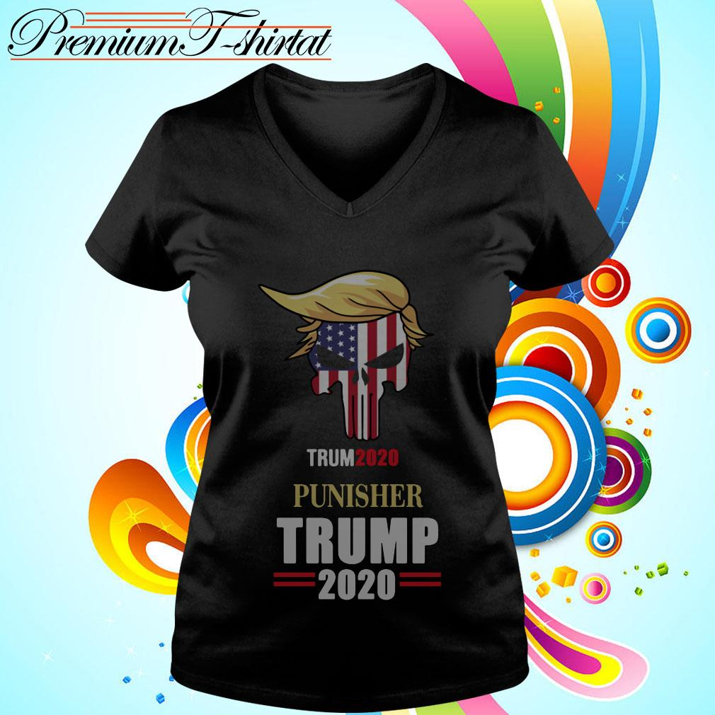 Trump 2020 Punisher Tito Ortiz Trump V-neck t-shirt