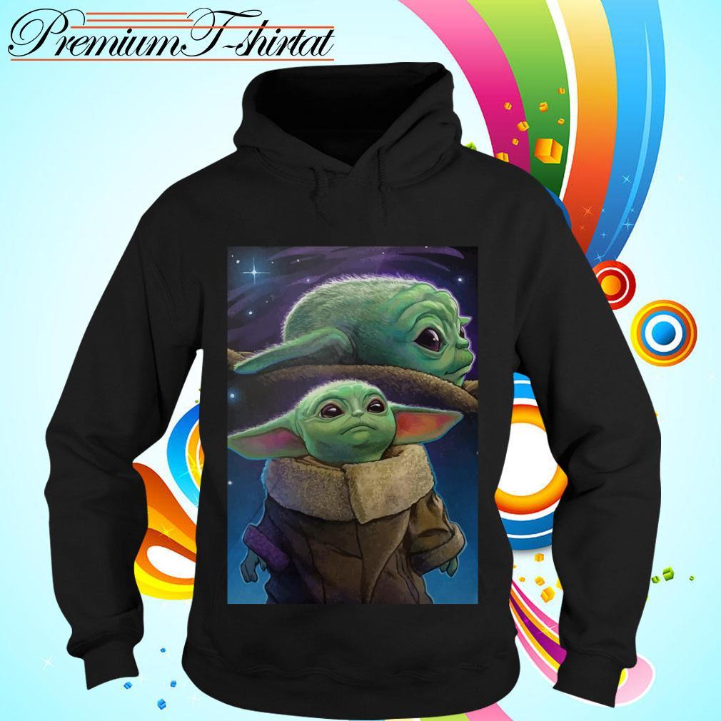 The Mandalorian Baby Yoda poster Hoodie