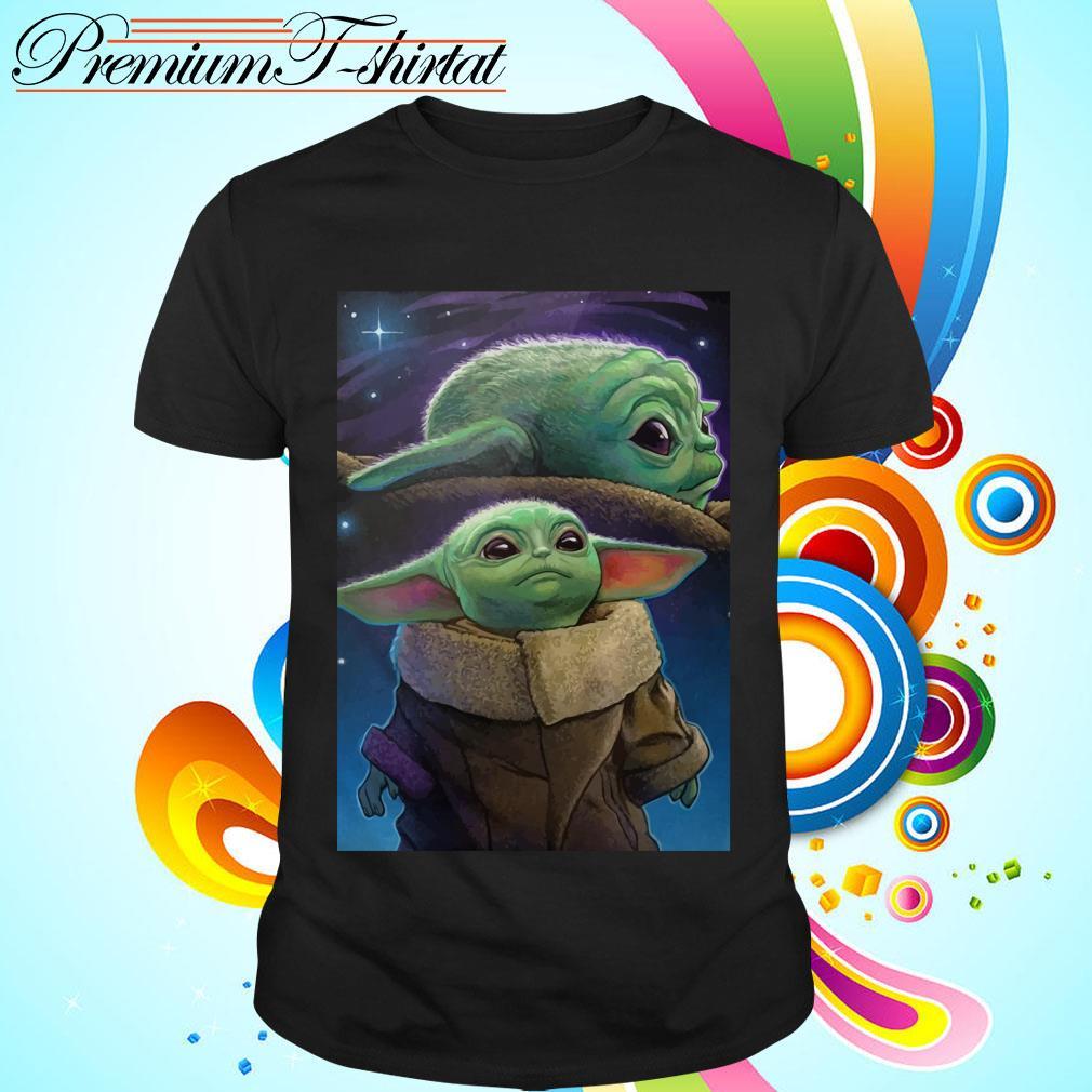 The Mandalorian Baby Yoda poster shirt