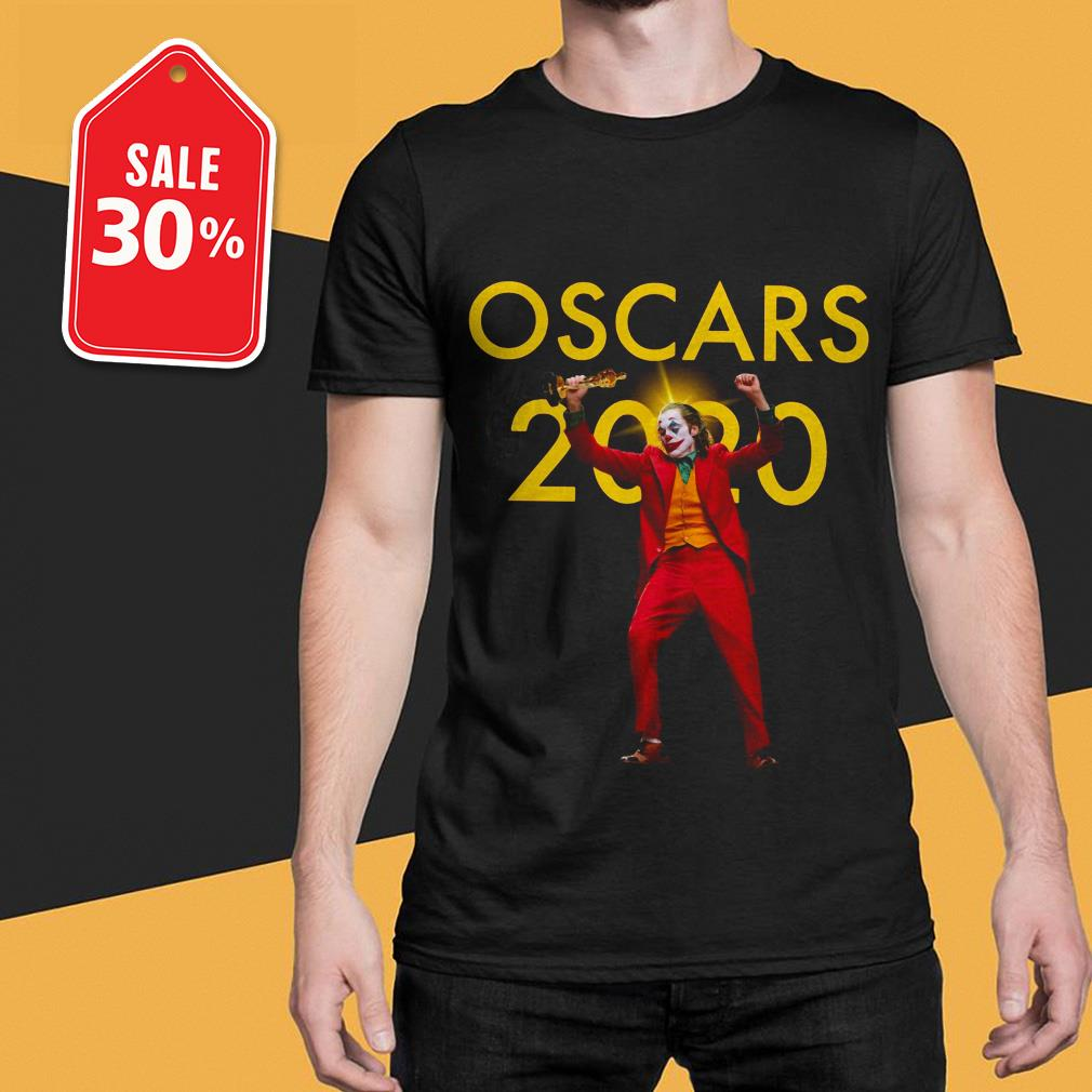 Official Joker Joaquin Phoenix Oscars 2020 Shirt By