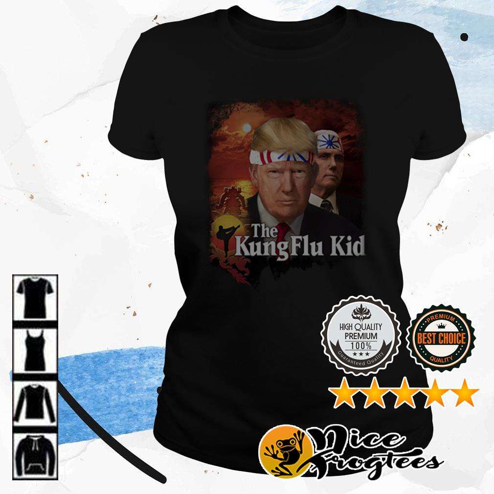 Donald Trump the kung flu kid shirt