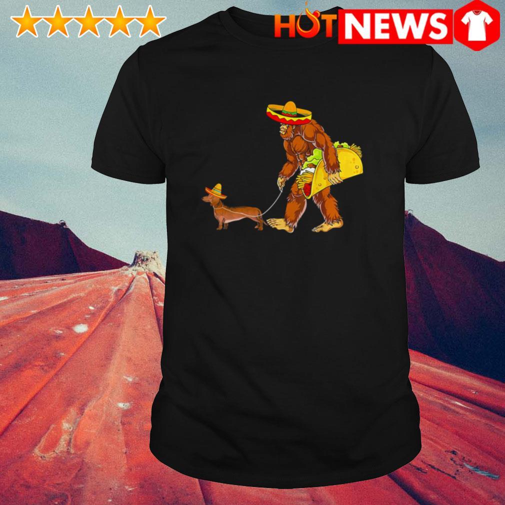 Bigfoot and Dachshund Tacos shirt