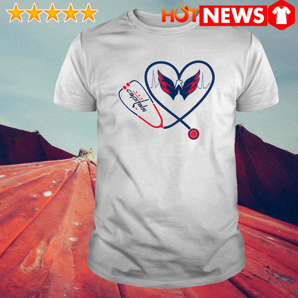 Nurse love Washington Capitals shirt