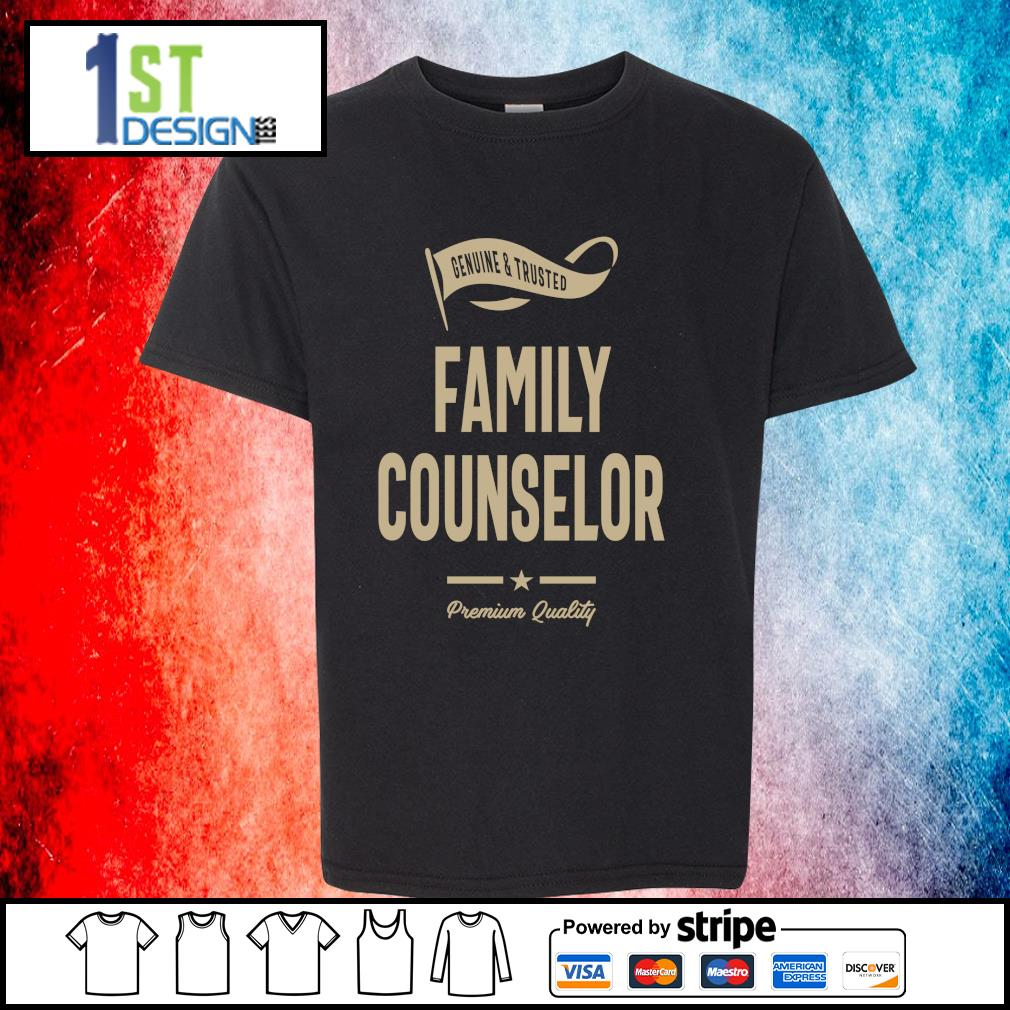 Genuine and trusted family counselor premium quality s youth-tee