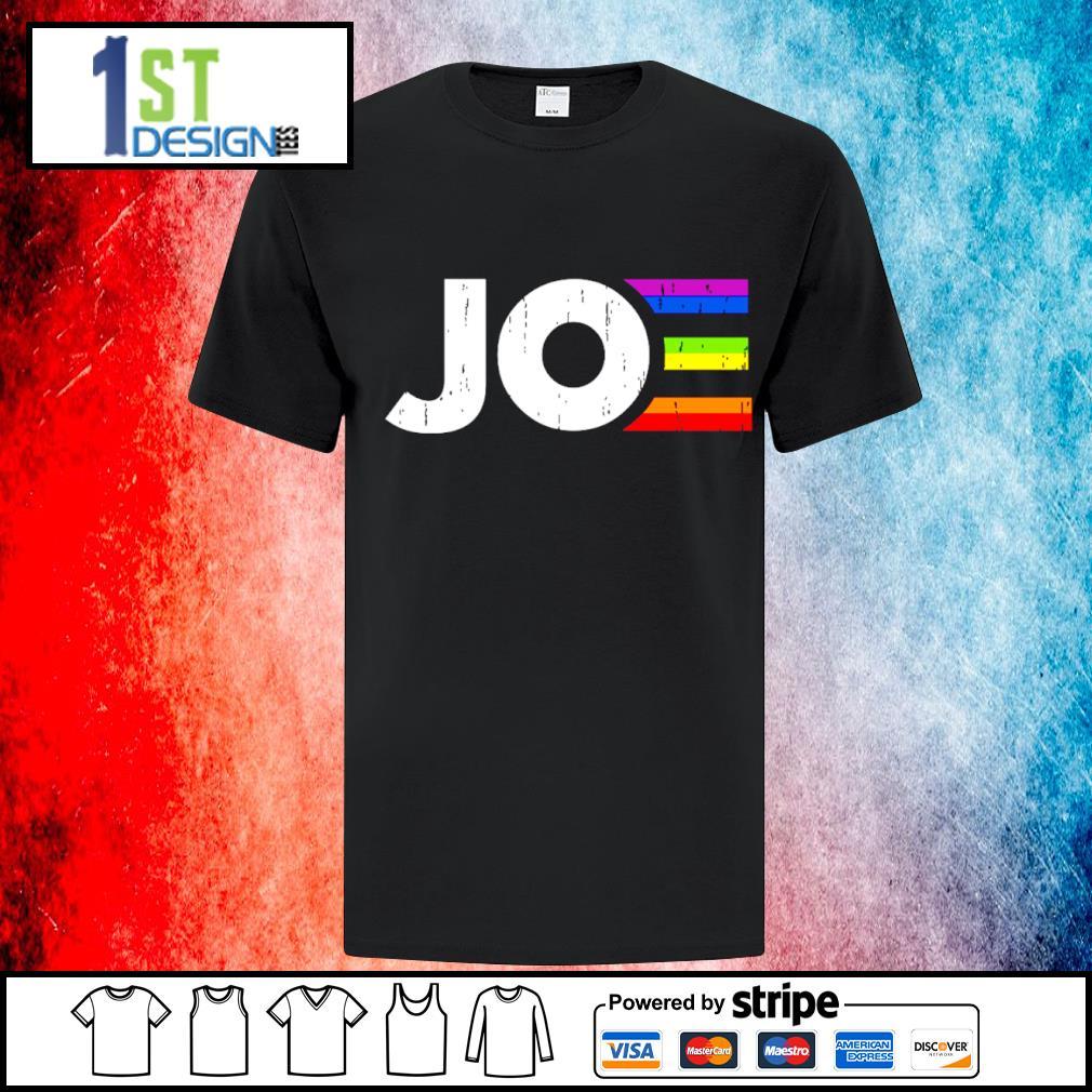 LGBT Joe Biden president shirt