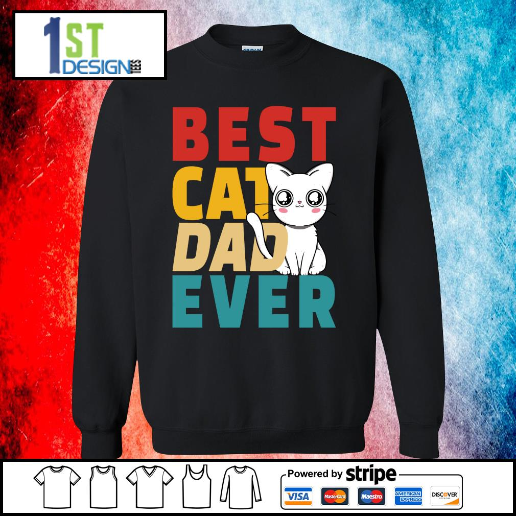 Official Best cat dad ever s sweater