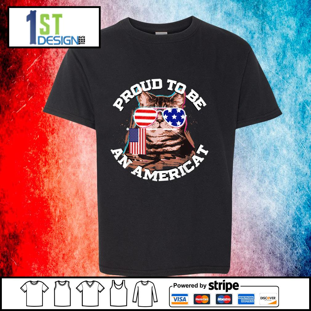 Proud to be an Americat s youth-tee