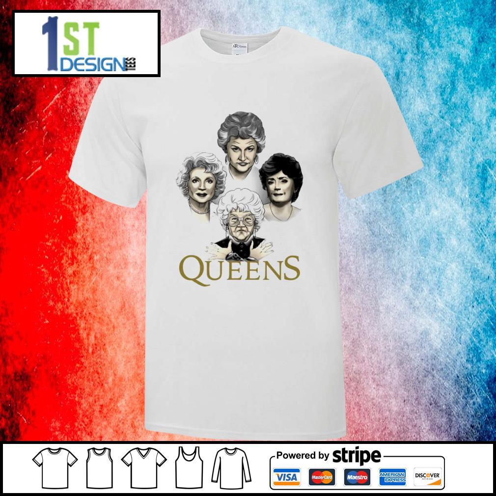 Queens The Golden Girls Queen Band Bohemian Rhapsody Mashup Shirt